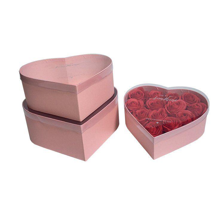 PVC Hat Rose Boxes