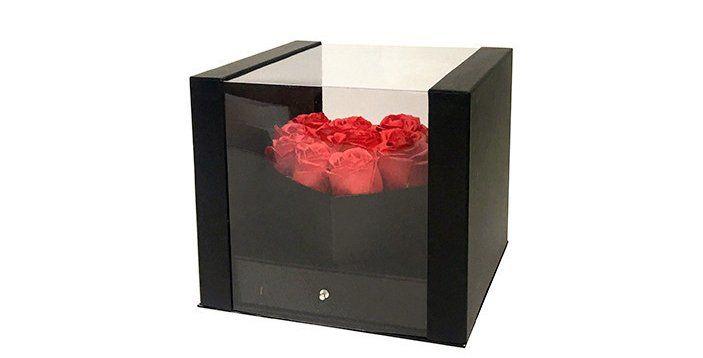 PVC Wedding Bucket Flower Box